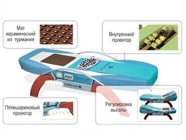 Медицинское оборудование - Кыргызстан: Сдам в аренду кровать массажер нуга бест nm-синий . 1 месяц без пояса