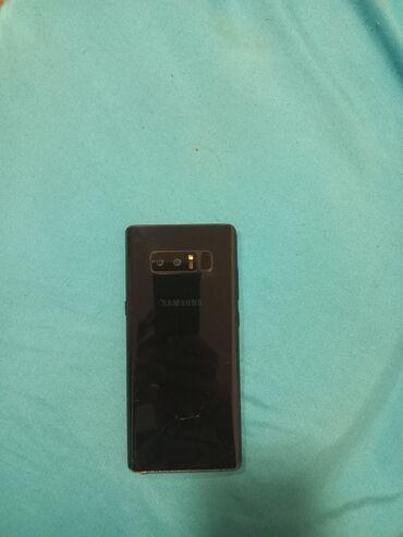 10256 elan | MOBIL TELEFON VƏ AKSESUARLAR: Samsung Galaxy Note 8 | 64 GB | Qara | Çatlar, cızıqlar, Barmaq izi