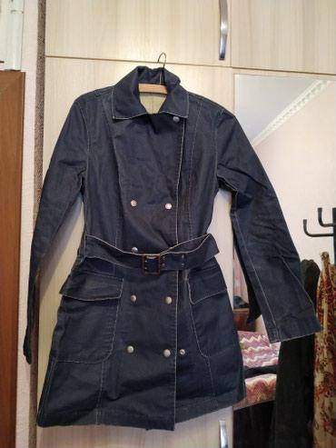 Продам джинсовый полуплащь от в Бишкек