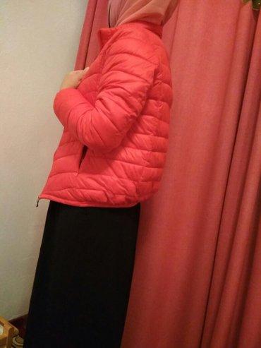 Деми куртка новый тёплый размер 44 46 в Бишкек
