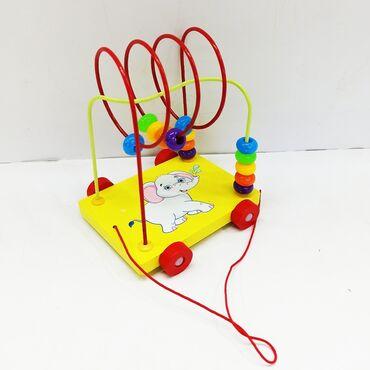 Монтессори деревянная.Познавательная игрушка для малышей от 1