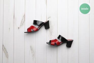 Женская обувь - Украина: Босоніжки червоні жіночі Kseniya р.38    Висота каблука: 6 см  Стан ду