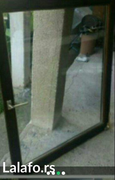 Prozor vakum staklo sa štokom ima uz prozor i žaluzina uvoz švajcarska - Jagodina
