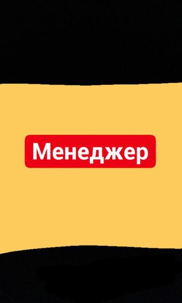 Требуется менеджер в инфо-центр компании All LeGenDТребование:Опыт р в Бишкек