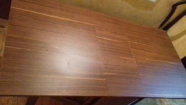 стол трюмо в Азербайджан: Teze acilan taxta stol.  Новый деревянный раскладной стол