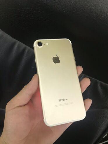 Электроника - Кочкор: Б/У iPhone 7 32 ГБ Золотой
