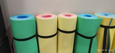 Коврики для йоги. Двухслойные. 1.8м×0.6м. Толщина 8 мм