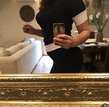 Samostojeca-carapa-sa-likrom-transparentna-srednja-mat-gerbi-balza - Srbija: Crna haljina, M velicina, sa likrom, rastegljiva udobna
