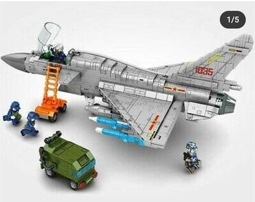 Konstruktor Lego Qirici Teyyare NOJ10B (6+) ic sayi - 820 detal