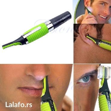 Micro Touch Trimer  Pogodan je za uklanjanje dlaka iz nosa i ušiju, - Nis