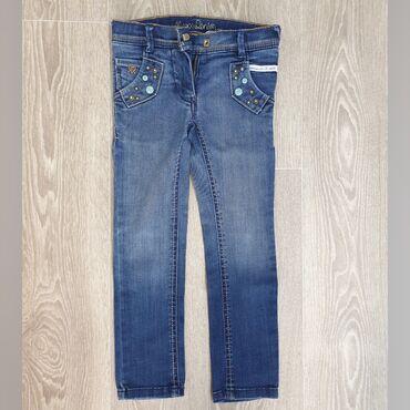 Туй голубые ели - Кыргызстан: Модные джинсы Mexx для девочки 3-5 лет в идеальном состоянии