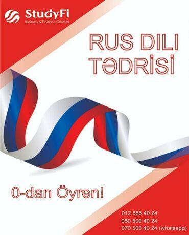 StudyFi tədris mərkəzində rus dili biliyinizi daha da təkmilləşdirmək
