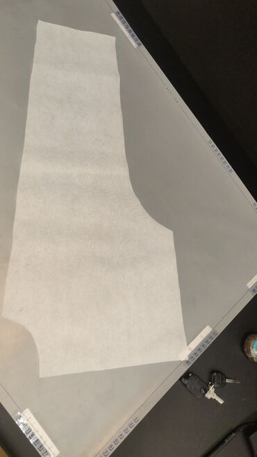 Оцифровка бумажных лекал