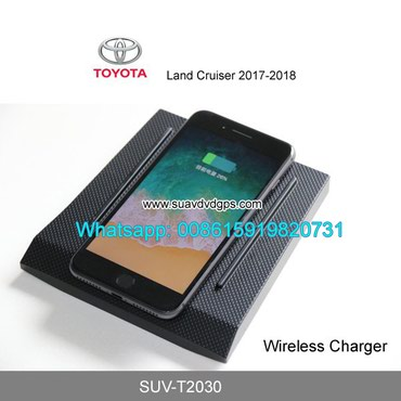 Toyota Land Cruiser Car QI wireless charger quick charge fast wireless in Kathmandu