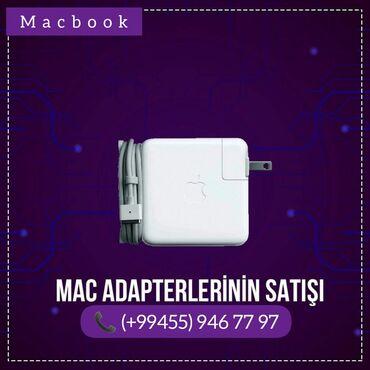 Noutbuklar üçün adapterlər - Azərbaycan: New Apple Macbook adapterleriA Class KeyfiyetMac Safe 16.5w Mac Safe 2