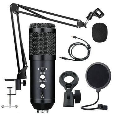 студийный микрофон бишкек in Кыргызстан   СТУДИЙНЫЕ МИКРОФОНЫ: USB конденсаторный микрофон Bm-800 Pro БишкекНикогда не было проще