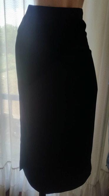 Suknja duzina duga - Srbija: Duga crna suknja sa slicevima vel. 38Zift crna suknja od prelepog