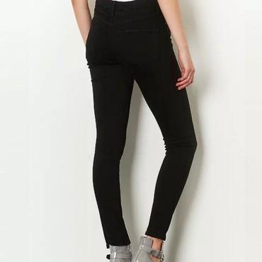 джинсы с разрезом на коленках в Кыргызстан: Черные джинсы, пожалуй, самый желанный элемент гардероба. Ведь ни что