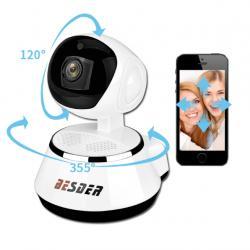 Ip wifi p2p kamera sa nocnim snimanjem (night vision), pan tilt, - Nis