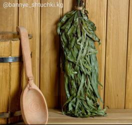 веники-для-бани в Кыргызстан: Веник для бани эвкалиптовый для бани и сауны.Эвкалипт традиционно
