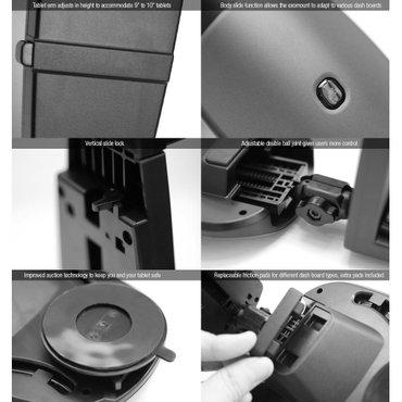 "Exogear 8"" tablet s dashboard car mount holder for ipad mini / tab / в Bakı"