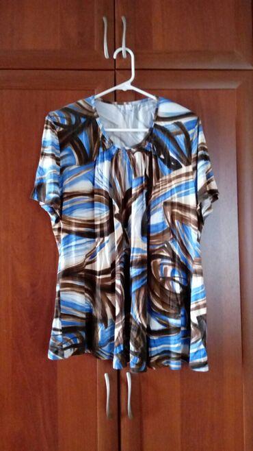 Рубашки и блузы - Кок-Ой: Кофта 56 размер, трикотаж. Военно-Антоновка