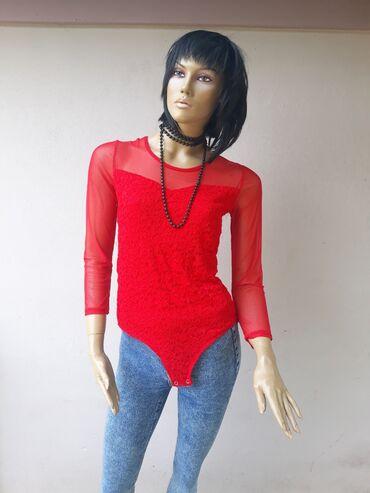 Ženska odeća | Prokuplje: Crveni bodi kao nova bez ikakvih ostecenja Veličina M/LPosetite moj
