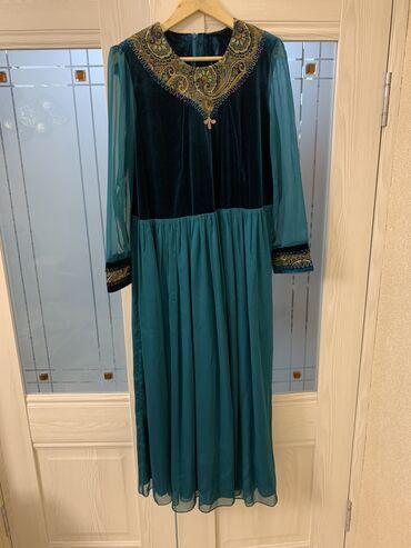 куплю платье в Кыргызстан: Платье (бархат-шелк) с ремнем