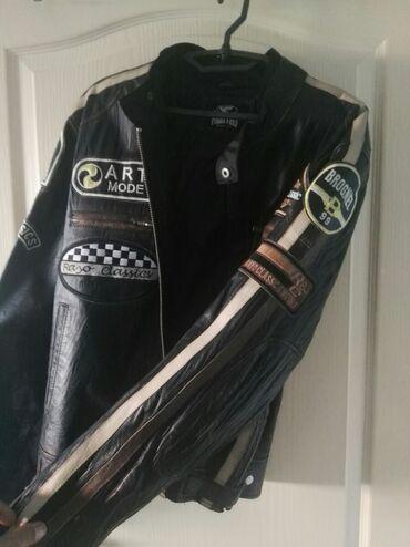 Muska kozna jakna - Srbija: Frateli muska kozna jakna. Velicina xl  moze dogovor