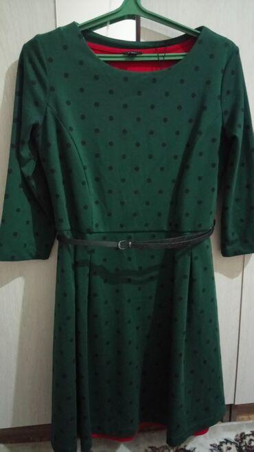 женское коктейльное платье в Кыргызстан: Женское платье,новое. размер 48-50. Окончательно 1000 сом. КАРА-БАЛТА