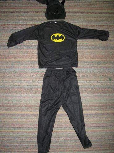 Ostala dečija odeća | Arandjelovac: BETMEN KOSTIM odlicno za maskembal. Komplet sadrzi pantalone, bluzu