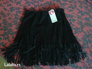 Zenska suknja sa resama vel l novo 1500