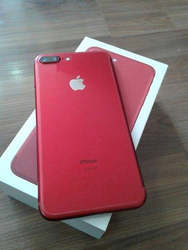 Iphone 7 plus red product. 128gb идеал. Обмен не предлагать! Цена окон в Бишкек