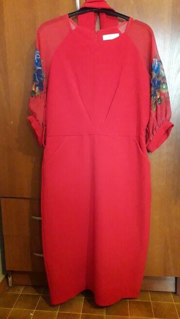 Турецкое платье,французской длины.Размер 42,подойдет на 46-48 размер