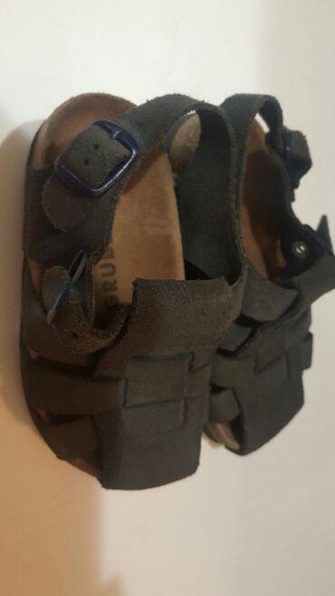 Grubin - Srbija: Grubin  Kozne sandale Br 27