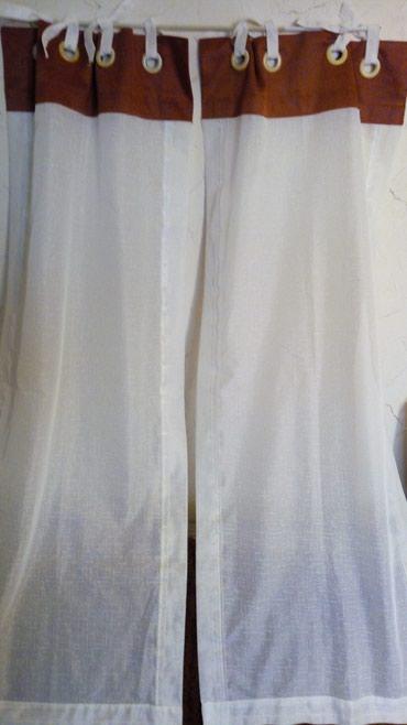 Zavesa vitraza dvodelna..visina..130cm..sirina..50..mera je za jednu.. - Kraljevo