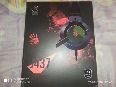 Kompüter qulaqlığı Bloody J437 7.1 virtual sound dəstəyi əsl gaming