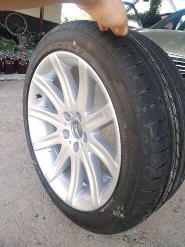 диски borbet в Кыргызстан: Диск на BMW R 19 borbet состояние диск и резина новое только один штук