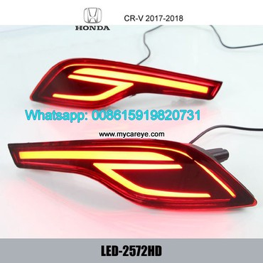 Honda CR-V LED Bumper lamp taillight brake Backup Lights Reversing in Tīkapur