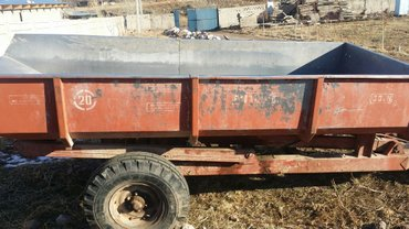 Продаю прицеп для трактора. дюр алюминивый. в Бишкек