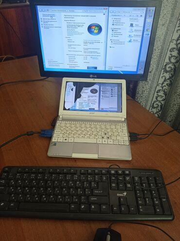 Электроника - Ивановка: Продаю нетбук Acer Anspire One Жёсткий - 100 Гб Оперативная память - 1