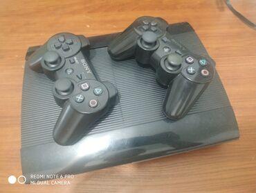 джойстик от ps3 к компьютеру в Кыргызстан: Продаю PS3 super slim прошитый 500г 30 игр в отличном состоянии