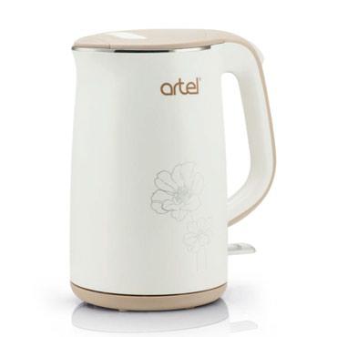 чайники разные цвета в Кыргызстан: Электрический Чайник ARTEL-5071 Цена: 1800сом, * 1года полной