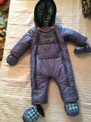 Детский зимний комбинезон, на рост 86 в Бишкек