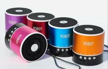 Bluetooth ηχείο +radio επαναφορτιζόμενο με καλώδιο φόρτισης 3w robot