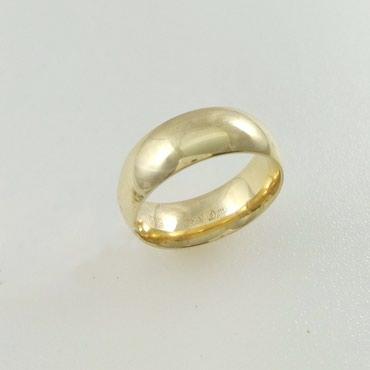 Кольцо обручальное из желтого золота, в Бишкек