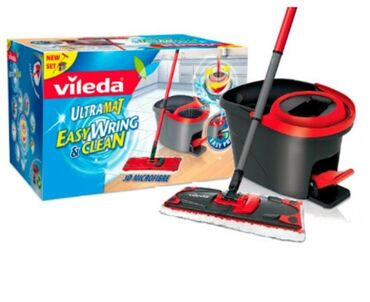 45 объявлений: Швабра с ведром Фирма ViIeda (Германия)