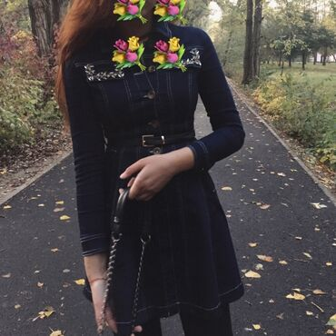 льняные платья для полных в Кыргызстан: Продаю платье, носили всего раз. Брали дороже, отдам за 800 сом