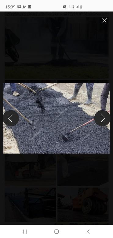 кровля крыши цена за квадратный метр работа in Кыргызстан | КРОВЛЯ КРЫШИ: Асфальт услуги по укладке асфальта с подготовкой основания с гарантией