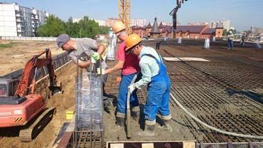 Монолит фундамент монолитчик бетон заливка заливаем монолит в Бишкек